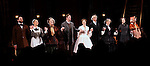 Kieran Campion, Virginia Kull, Caitlin O'Connell, Dan Stevens, Jessica Chastain, David Straitharin, Judith Ivey, Dee Nelson and Molly Camp during the Broadway Opening Night Performance Curtain Call for 'The Heiress' at The Walter Kerr Theatre on 11/01/2012 in New York.