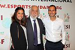 XIV Sopar Solidari de Nadal.<br /> Esport Solidari Internacional-ESI.<br /> Josep Maldonado &amp; Albert Cabestany.