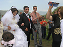 Armenia 2007 <br />  A Yezidi wedding in a village : The bride and groom <br /> Armenie 2007 <br /> Un mariage yezidi dans un village: les maries