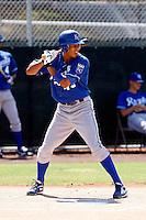 Alex Llanos ---  AZL Royals - 2009 Arizona League.Photo by:  Bill Mitchell/Four Seam Images