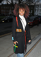 Fleur East at the &quot;The House On Cold Hill&quot; gala performance, Richmond Theatre, The Green, Richmond, London, England, UK, on Tuesday 09th April 2019.<br /> CAP/CAN<br /> &copy;CAN/Capital Pictures