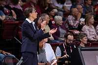 STANFORD, CA - November 17, 2019: Stanford beats Gonzaga 76-70 in overtime at Maples Pavilion.