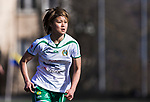 110410 Hammarbys Mami Yamaguchi under fotbollsmatchen i Damallsvenskan mellan Hammarby och Ume&aring; den 10 April 2011 i Stockholm. <br /> Foto: Kenta J&ouml;nsson<br /> Nyckelord: fotboll, damallsvenskan, hammarby, ume&aring;