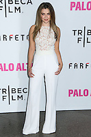 "LOS ANGELES, CA, USA - MAY 05: Zoe Levin at the Los Angeles Premiere Of Tribeca Film's ""Palo Alto"" held at the Directors Guild of America on May 5, 2014 in Los Angeles, California, United States. (Photo by Celebrity Monitor)"