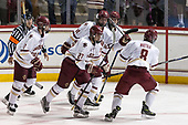 Tim Benedetto, Scott Savage (BC - 2), Graham McPhee (BC - 27), Zach Walker (BC - 14), Mike Booth (BC - 12), Jesper Mattila (BC - 8) - The Boston College Eagles defeated the visiting Colorado College Tigers 4-1 on Friday, October 21, 2016, at Kelley Rink in Conte Forum in Chestnut Hill, Massachusetts.The Boston College Eagles defeated the visiting Colorado College Tiger 4-1 on Friday, October 21, 2016, at Kelley Rink in Conte Forum in Chestnut Hill, Massachusett.
