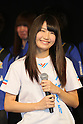 Ayaka Murakami (NMB48), .FEBRUARY 16, 2012 - Football / Soccer : Speranza FC Osaka Takatsuki Press conference at NMB48 Theater in Osaka, Japan. Japanese ladies soccer team Speranza FC Osaka Takatsuki hold a joint press conference with members of NMB48, the Osaka version of the popular AKB48 idol group. Both women's soccer and girls idol groups are hugely popular in Japan after the national team's success at the Womens Soccer World Cup and the growing success of AKB48.
