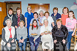 Enjoying the St Josephs Killorglin sale of work on Sunday were front row l-r: Sr Helena, anne O'Neill, Margaret McGrath, Sr Consilli, Kathleen McCann. Back row: Audrey Moriarty, Teresqa Clifford, Tracey Foley, Eileen O'Riordan, Teresa Macchia, Marie Reen, Kitty O'Sullivan, Sheila Cahillane, and Sinead Cahillane