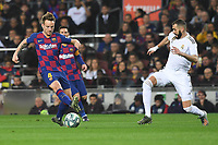 Ivan Rakitic, Karim Benzema<br /> 18/12/2019 <br /> Barcelona - Real Madrid<br /> Calcio La Liga 2019/2020 <br /> Photo Paco Largo Panoramic/insidefoto <br /> ITALY ONLY