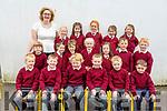 Scoil Maomh Eirc Kilmoyley junior infants class of Mrs O'Carroll.
