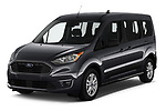 2019 Ford Transit-Connect XLT 5 Door Combi Angular Front stock photos of front three quarter view