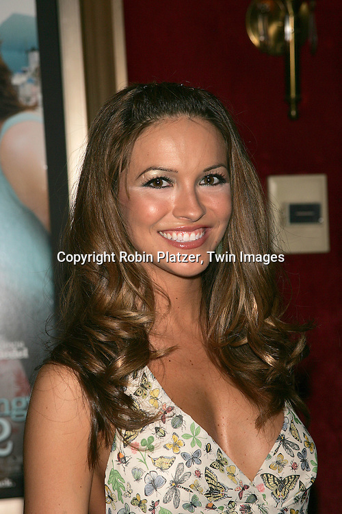 Chrishell Stause of All My Children..posing for photographers at The New York Premiere of..The Sisterhood of the Traveling Pants 2 on July 28, 2008 at The Ziegfeld Theatre. ....Robin Platzer, Twin Images