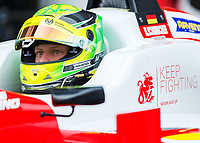 Mick Schumacher (CHE) of Prema Theodore Racing during the F3 European race during the 2018 Silverstone - FIA World Endurance Championship at Silverstone Circuit, Towcester, England on 17 August 2018. Photo by Vince  Mignott.