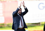 Partick Thistle v St Johnstone&hellip;10.09.16..  Firhill  SPFL<br />Tommy Wrfith appluads the fans at full time<br />Picture by Graeme Hart.<br />Copyright Perthshire Picture Agency<br />Tel: 01738 623350  Mobile: 07990 594431