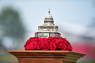 Bethesda, MD - July 2, 2017: Quicken Loans trophy during final round of professional play at the Quicken Loans National Tournament at TPC Potomac at Avenel Farm in Bethesda, MD.  (Photo by Phillip Peters/Media Images International)
