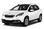 Front three quarter view of a 2013 Peugeot 2008 Active SUV2013 Peugeot 2008 Active SUV