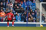 16.03.2019 Rangers v Kilmarnock: Conor McAleny rolls the ball into an empty net