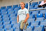 07.10.2018, wirsol Rhein-Neckar-Arena, Sinsheim, GER, 1 FBL, TSG 1899 Hoffenheim vs Eintracht Frankfurt, <br /> <br /> DFL REGULATIONS PROHIBIT ANY USE OF PHOTOGRAPHS AS IMAGE SEQUENCES AND/OR QUASI-VIDEO.<br /> <br /> im Bild: Ansgar Brinkmann<br /> <br /> Foto &copy; nordphoto / Fabisch