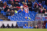 Atletico de Madrid's Antoine Griezmann during Copa del Rey match between Atletico de Madrid and SD Eibar at Vicente Calderon Stadium in Madrid, Spain. January 19, 2017. (ALTERPHOTOS/BorjaB.Hojas)