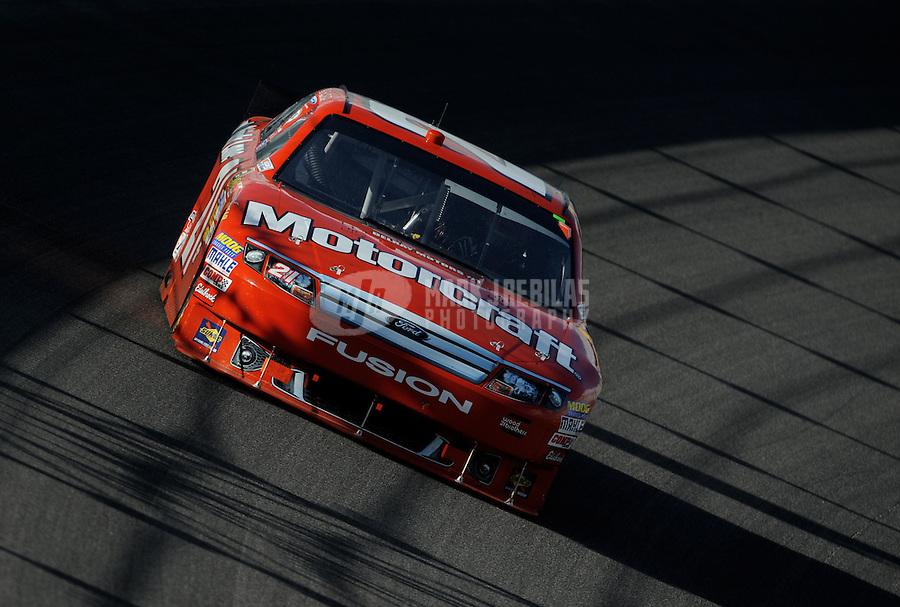 Nov. 21, 2010; Homestead, FL, USA; NASCAR Sprint Cup Series driver Bill Elliott during the Ford 400 at Homestead Miami Speedway. Mandatory Credit: Mark J. Rebilas-