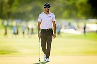 Rafa Cabrera Bello (ESP) during the 2nd round of the Abu Dhabi HSBC Championship, Abu Dhabi Golf Club, Abu Dhabi,  United Arab Emirates. 17/01/2020<br /> Picture: Oisin Keniry   Golffile<br /> <br /> <br /> All photo usage must carry mandatory copyright credit (© Golffile   Oisin Keniry)