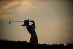 TAOYUAN, TAIWAN - OCTOBER 27:  Azahara Munoz of Spain tees off on the 16th hole during the day three of the Sunrise LPGA Taiwan Championship at the Sunrise Golf Course on October 27, 2012 in Taoyuan, Taiwan.  Photo by Victor Fraile / The Power of Sport Images