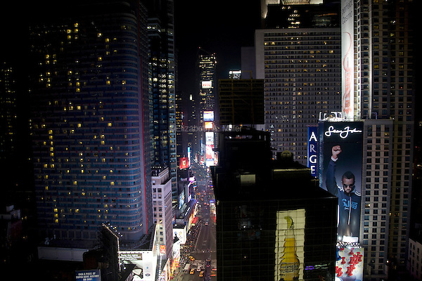 The view from the rooftop observatory of 1600 Broadway, an Ultimate Escapes Luxury Destination Club residence.