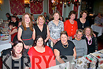 Ladies from Fatima Home, Tralee had great fun at the annual Christmas party in the Imperial hotel, Tralee last Saturday night (seated) l-r: Breda McAuliffe, Marian Long, Karen Best, Sandra Moriarty and Patricia Sheehy. Back l-r: Sinead Mangan, Kathy Irwin, Mary Crean, Helen Divane and Teresa Griffin.