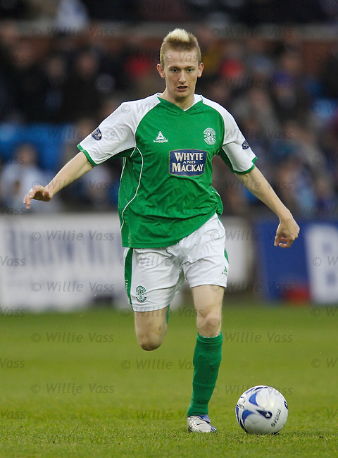 Derek Riordan, Hibs.stock season 2005-2006.pic willie vass