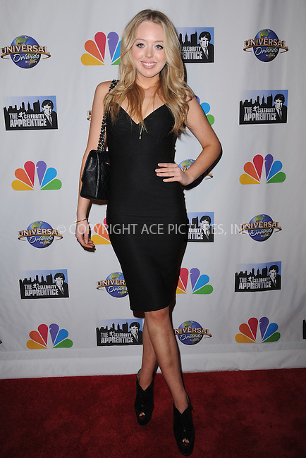 WWW.ACEPIXS.COM<br /> February 16, 2015 New York City<br /> <br /> Tiffany Trump arriving to the Celebrity Apprentice Finale viewing party and post show red carpet on February 16, 2015 in New York City.<br /> <br /> Please byline: Kristin Callahan/AcePictures<br /> <br /> ACEPIXS.COM<br /> <br /> Tel: (646) 769 0430<br /> e-mail: info@acepixs.com<br /> web: http://www.acepixs.com