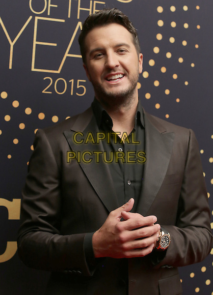 02 December 2015 - Nashville, Tennessee - Luke Bryan. 2015 &quot;CMT Artists of the Year&quot; held at Schermerhorn Symphony Center. <br /> CAP/ADM/BM<br /> &copy;BM/ADM/Capital Pictures
