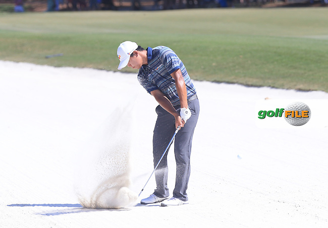 Si Woo Kim(KOR)  during the Third Round of The Players, TPC Sawgrass, Ponte Vedra Beach, Jacksonville.   Florida, USA. 14/05/2016.<br /> Picture: Golffile | Mark Davison<br /> <br /> <br /> All photo usage must carry mandatory copyright credit (&copy; Golffile | Mark Davison)