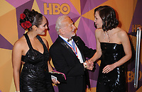 07 January 2018 - Beverly Hills, California - Buzz Aldrin, Maggie Gyllenhaal. 2018 HBO Golden Globes After Party held at The Beverly Hilton Hotel in Beverly Hills. <br /> CAP/ADM/BT<br /> &copy;BT/ADM/Capital Pictures