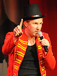 Jason Byrne performing at the Barbican centre. Photo: Colin Bell/pressphotos.ie