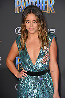"Chloe Bennet at the world premiere for ""Black Panther"" at the Dolby Theatre, Hollywood, USA 29 Jan. 2018<br /> Picture: Paul Smith/Featureflash/SilverHub 0208 004 5359 sales@silverhubmedia.com"