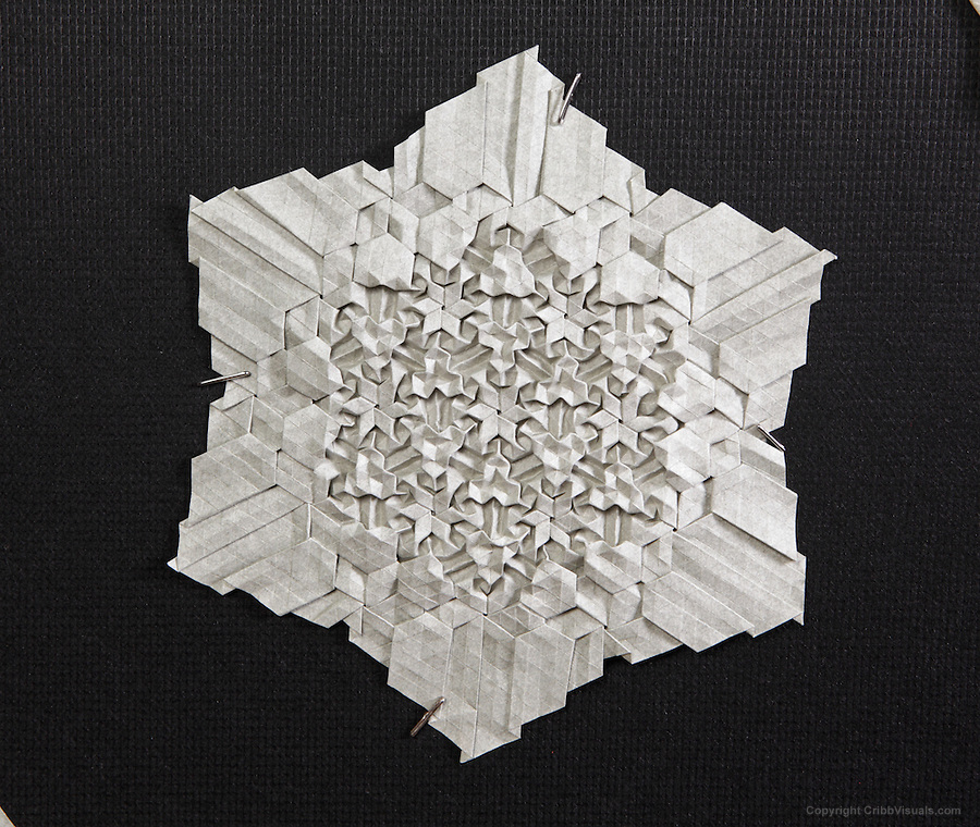 Origami Tessellation By Benjamin Parker Cribb Visuals