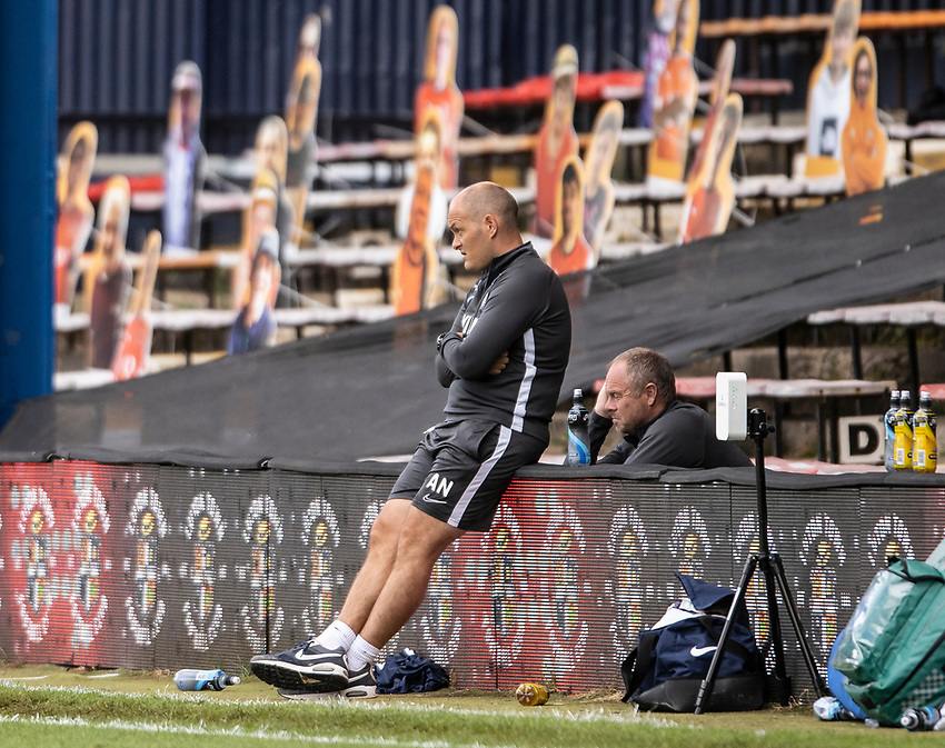 Preston North End's manager Alex Neil  <br /> <br /> Photographer Andrew Kearns/CameraSport<br /> <br /> The EFL Sky Bet Championship - Luton Town v Preston North End - Saturday 20th June 2020 - Kenilworth Road - Luton<br /> <br /> World Copyright © 2020 CameraSport. All rights reserved. 43 Linden Ave. Countesthorpe. Leicester. England. LE8 5PG - Tel: +44 (0) 116 277 4147 - admin@camerasport.com - www.camerasport.com
