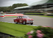 10th September 2017, Goodwood Estate, Chichester, England; Goodwood Revival Race Meeting; An Alfa Romeo Giulietta T1 exits the Goodwood chicane