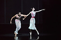 "Birmingham Royal Ballet in dress rehearsal for EMBRACE choreographed by GeorgeWilliamson, as part of their mixed bill, ""Polarity & Proximity"", at Sadler's Wells. The cast is: Brandon Lawrence (He), Delia Mathews (She), Max Maslen (Him), Lachlan Monaghan (Self One), Haoliang Feng (Self Two), Aitor Galende (Self Three), Ruth Brill, Reina Fuchigami, Miki Mizutani,Beatrice Parma, Rachele Pizzillo, Yaoqian shang, ALys Shee, Tim Dutson, Haoliang Feng, Aitor Galende, Max Maslen, Lachlan Monaghan, Gus Payne, Edivaldo Souza da Silva, Harry Wright (Them)."