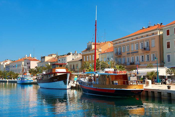 Mali Lo?inj harbour, Lo?inj Island Croatia
