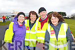 Pictured at the Fenit Coastal Cycle on Saturday were l-r: Aoife Kelly (Fenit)  Mary O'Carroll (Fenit) John O'Sullivan (Barrow) and Hannah Mortimor (Churchill, Fenit)