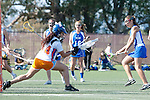 Santa Barbara, CA 02/13/10 - Adrianna Paidas (Florida # 44), Casey Kriebel (Florida # 30) and Francesca Perrone (UCSB # 6) in action during the UCSB-Florida game at the 2010 Santa Barbara Shoutout, UCSB defeated Florida 9-8.