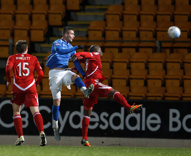 Marcus Haber scores late on for St Johnstone