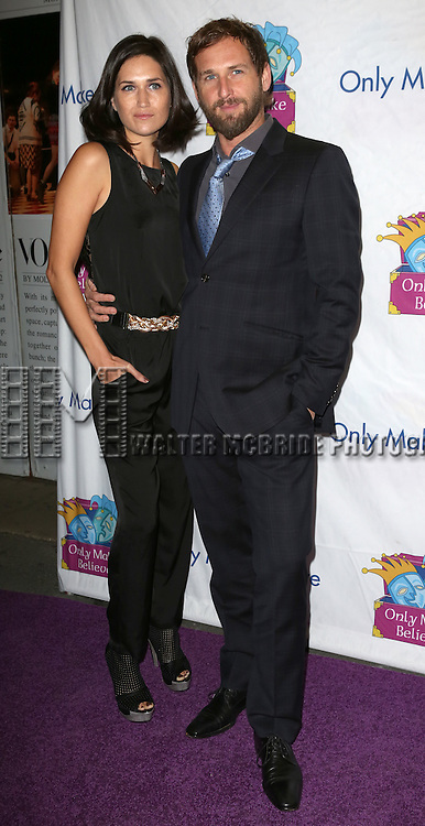 Josh Lucas and wife Jessica Henriquez attends the 14th Annual 'Only Make Believe' Gala at the Bernard B. Jacobs Theatre on November 4, 2013  in New York City.