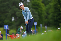 Lydia Ko (NZL) watches her putt on 1 during the round 3 of the KPMG Women's PGA Championship, Hazeltine National, Chaska, Minnesota, USA. 6/22/2019.<br /> Picture: Golffile | Ken Murray<br /> <br /> <br /> All photo usage must carry mandatory copyright credit (© Golffile | Ken Murray)