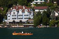 Europe/France/Rhône-Alpes/74/Haute-Savoie/Veyrier-du-Lac: l'Auberge de l'Eridan de Marc Veyrat sur le Lac d'Annecy