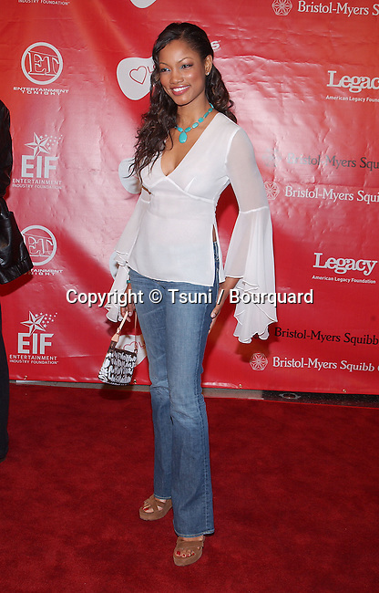 "Garcelle Beauvais-Nilon arriving at the First Annual Entertainment Industry Foundation "" Love Rocks "". Concert  to Celebrate the biggest Heart in Entertainment. February 14, 2002."