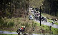peloton up the Col du Rosier<br /> <br /> 102nd Li&egrave;ge-Bastogne-Li&egrave;ge 2016