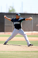 Yoervis Medina, Seattle Mariners 2010 minor league spring training..Photo by:  Bill Mitchell/Four Seam Images.