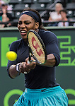 Serena Williams (USA) defeats Christina McHale (USA) by 6-3, 5-7, 6-2