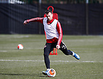 Jack Robinson of Sheffield Utd during a training session at the Steelphalt Academy, Sheffield. Picture date: 5th March 2020. Picture credit should read: Simon Bellis/Sportimage